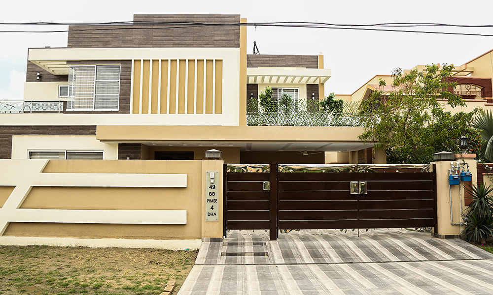 Front Elevation Of 1 Kanal House : House designs in pakistan