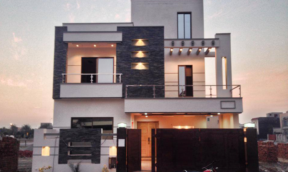 Front Elevation Tiles In Lahore : House designs in pakistan