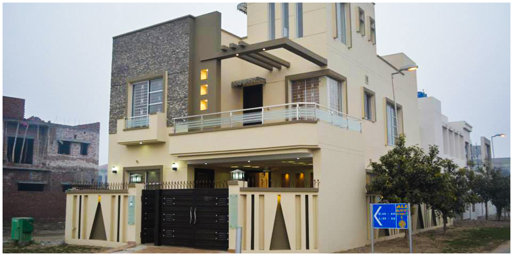 Marla Home Front Elevation : Construction of houses in lahore builders and contractors