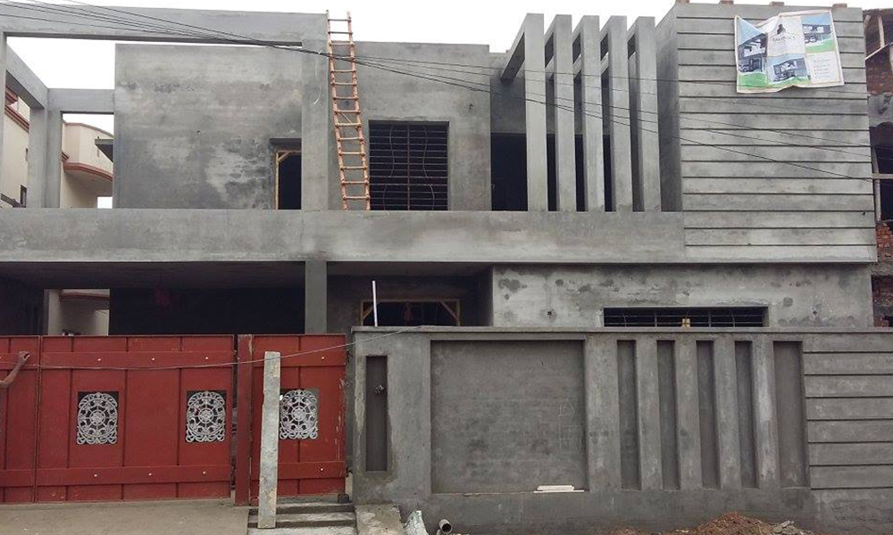 Front Elevation Steel Design : House designs in pakistan