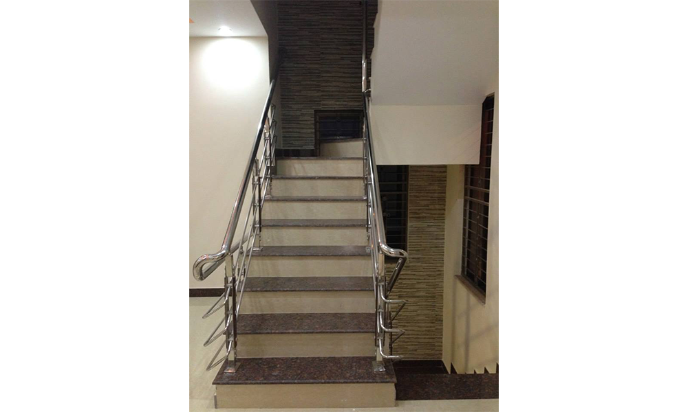 railings concrete stairs