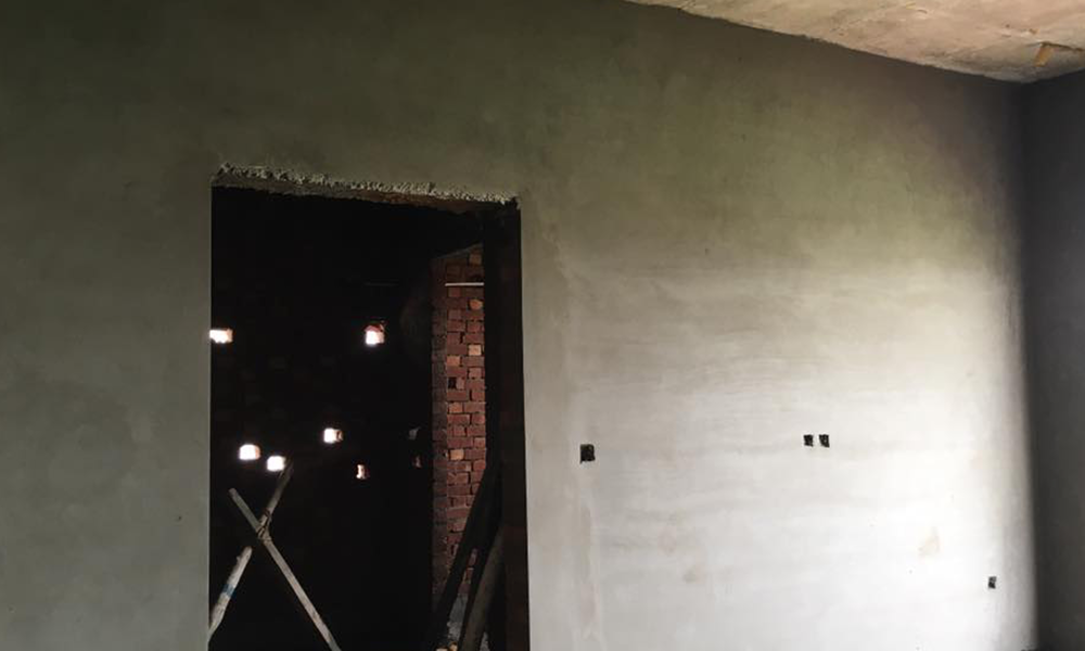plaster shuttering grey structure