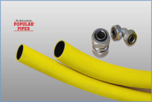 gas pipe for house construction
