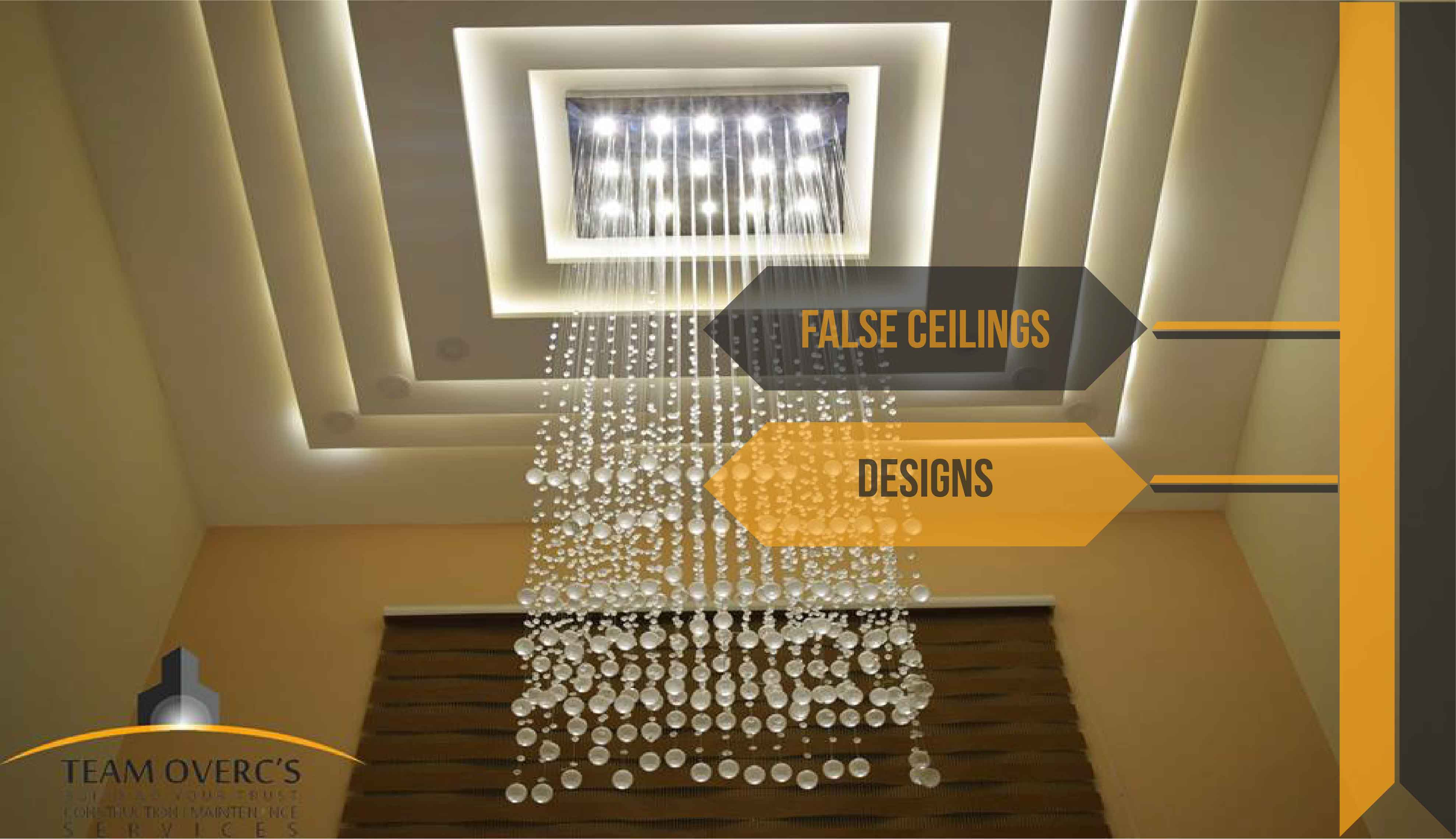 False Ceilings Designs And Decor During House Construction